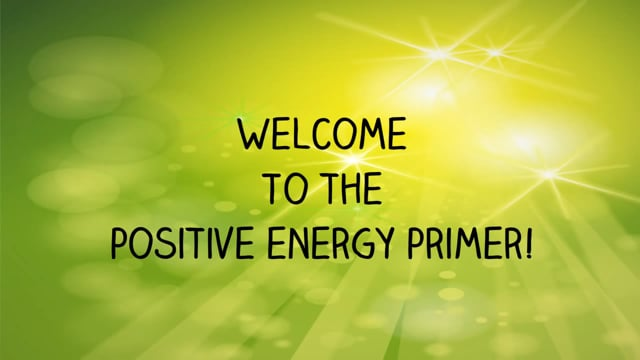 Positive EFT - From Stress To Success- The Positive Energy Prime