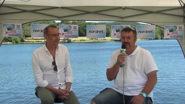 Decize fait sa télé à Lormes au festival de chanson française - Présentation du festival par Fabien Bazin