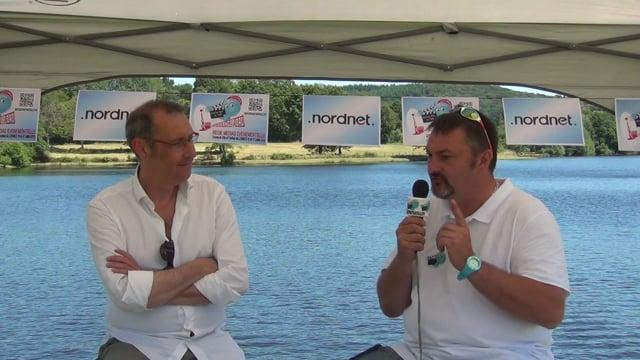 Decize fait sa télé à Lormes au festival de chanson française - Diffusion en très haut débit