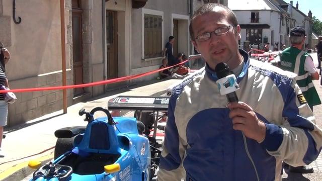 Decize fait sa télé à la course de côte de Lormes-présentation de véhicules et de pilotes
