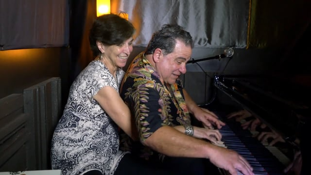 Mitch Woods and Marcia Ball