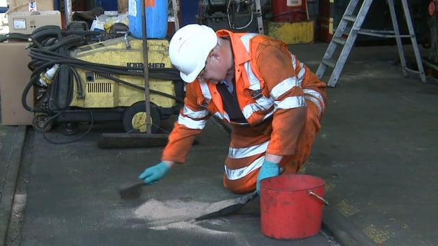 Hope Cement: Harry Needle Rail Depot