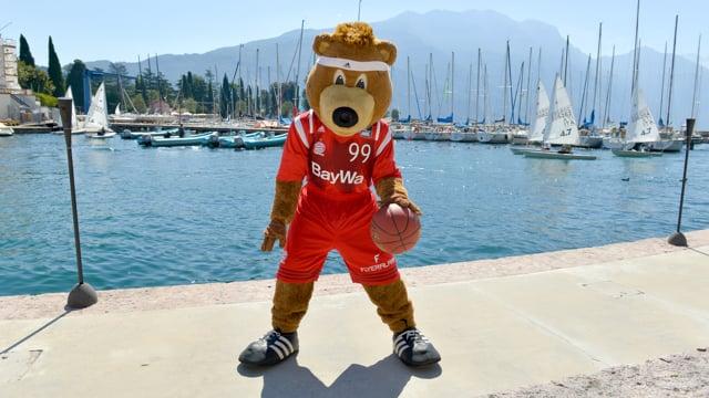Ritiro 2016 FC Bayern Basketball nel Garda Trentino