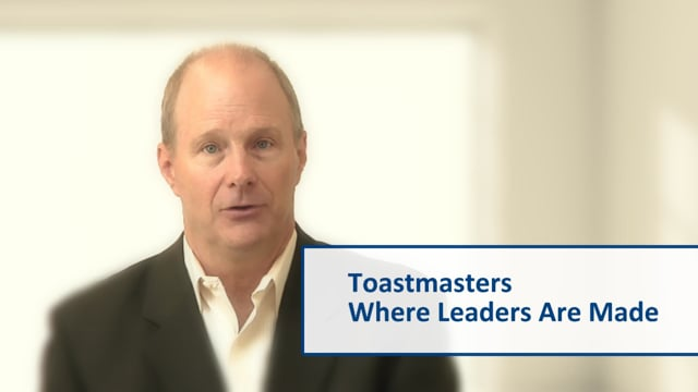 Getting Ahead With Toastmasters (1min)