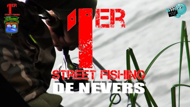 DECIZE FAIT SA TELE AU PREMIER STREET FISHING DE NEVERS ORGANISE PAR L'APPMA LA CORCILLE