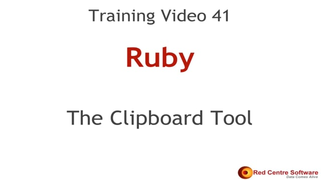 41. The Clipboard Tool