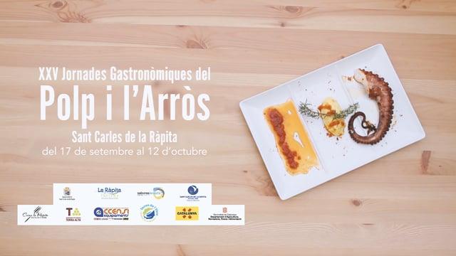 Spot - Jornades Gastronòmiques del Pop i l'Arròs de La Ràpita 2016