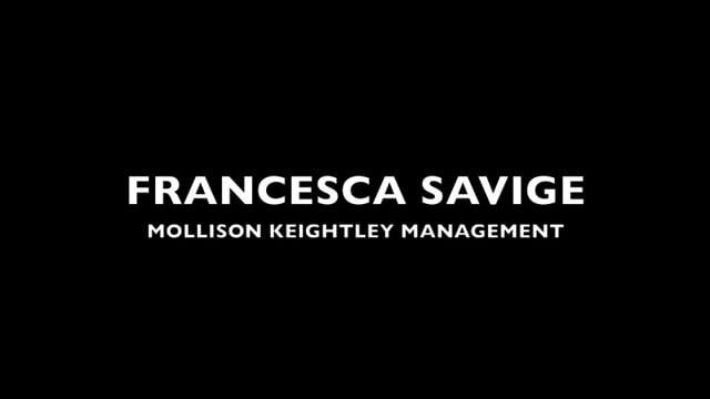Showreel for Francesca Savige