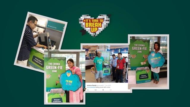 Croma World Environment Day case study