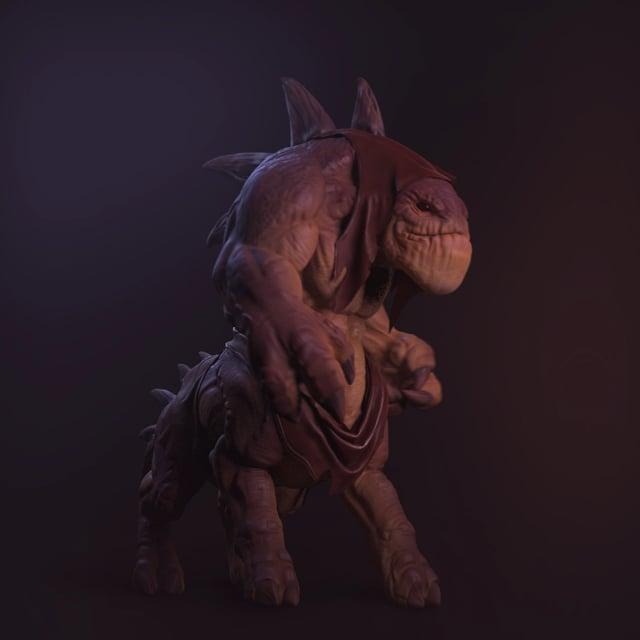 Creature test - Carlos Ortega