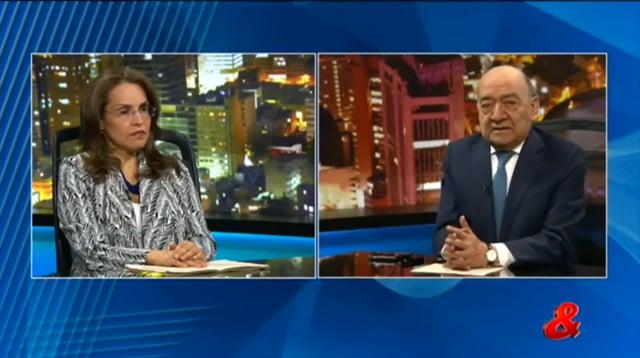 La senadora Viviane Morales en pregunta Yamid