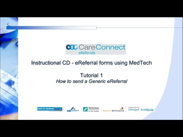Medtech - Generic Referral Form