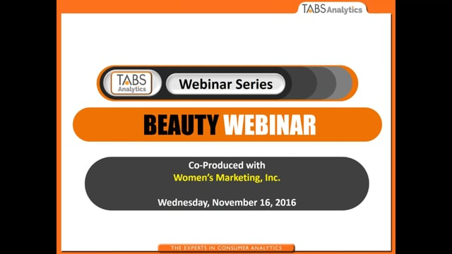 TABS 3rd Annual Beauty Study (11/16/2016)