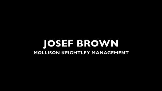 Showreel for Josef Brown