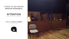 2016 - P2B Medium Ensemble / Volume 2 / Attention