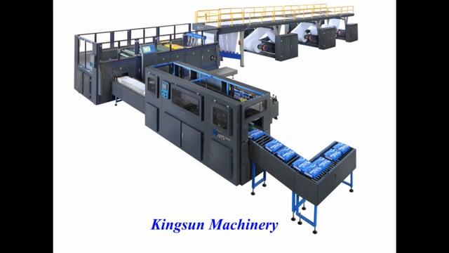 A4 Paper Cutting and Packing Machine - Kingsun Machinery
