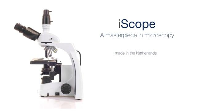 Euromex iScope donkerveld-microscoop