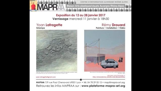 MAPRAA Janvier 2017 -  YOAN LAFRAGETTE,   REMY DROUARD