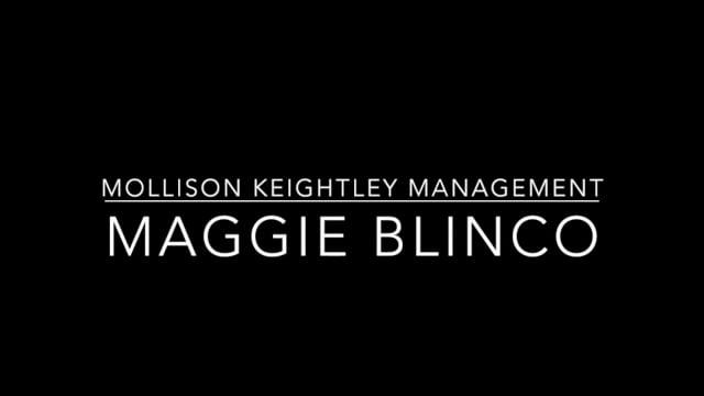 Showreel for Maggie Blinco