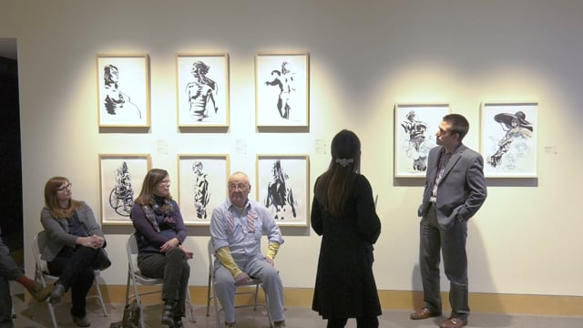 Dialog Human an Artist Talk with Priscilla Steele and Thomas C Jackson