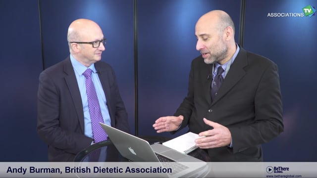 Interview of Andy Burman, Chief Executive, British Dietetic Association