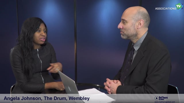 Interview of Angela Johnson,Head of Conference & Events/ Commercial Manager, The Drum, Wembley