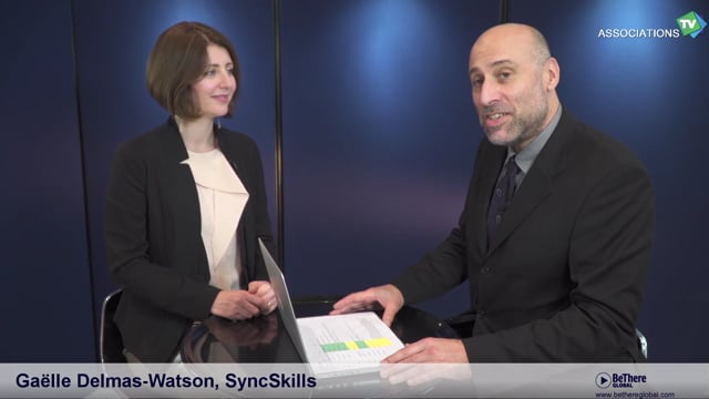 Interview of Gaelle Delmas-Watson, Founder, SyncSkills