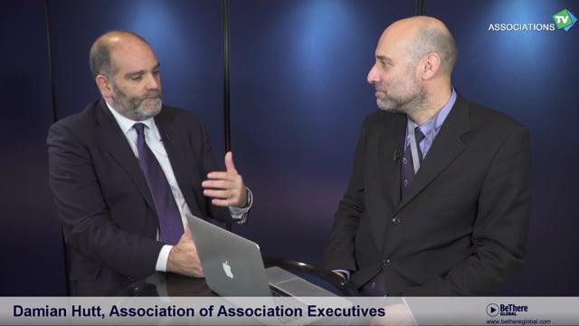 Interview of Damian Hutt, Executive Director, The Association of Association Executives
