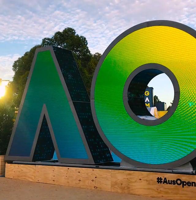 Australian Open: Installation