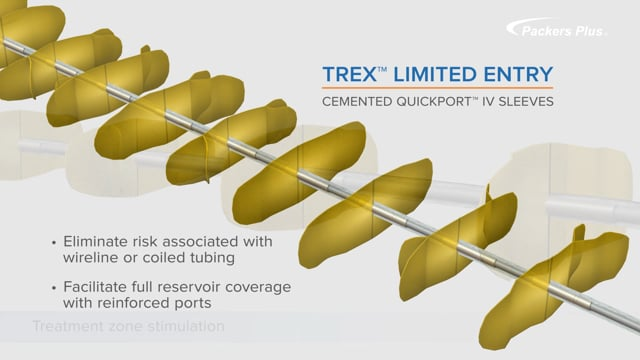 TREX QuickPORT Multi-Stage Completions for Cemented Liners