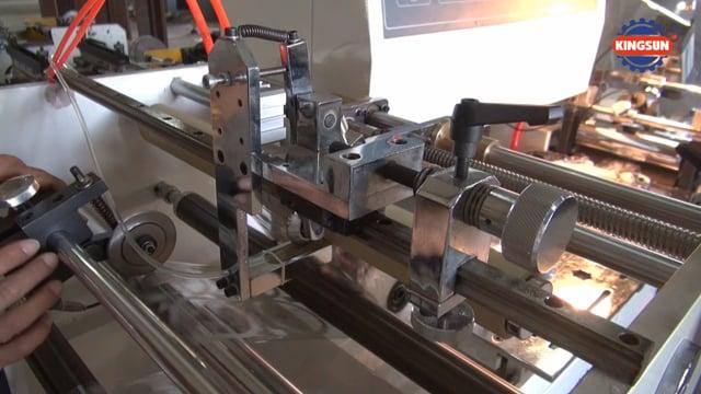 PVC Shrink Sleeve Label Making Machine | PVC Label Gluing Machine - Kingsun Machinery