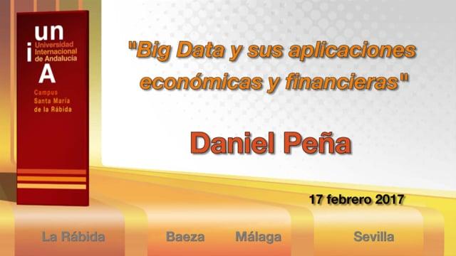 Conferencia Inaugural 2016/17. Daniel Peña