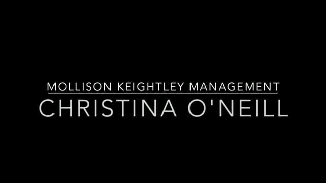 Showreel for Christina O'Neill