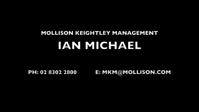 Showreel for Ian Michael