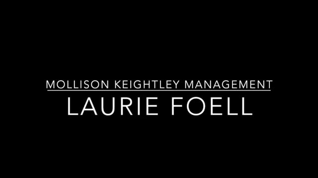 Showreel for Laurie Foell