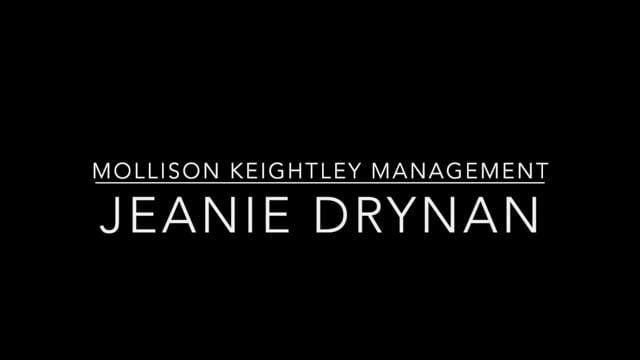 Showreel for Jeanie Drynan
