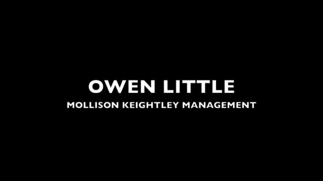 Showreel for Owen Little