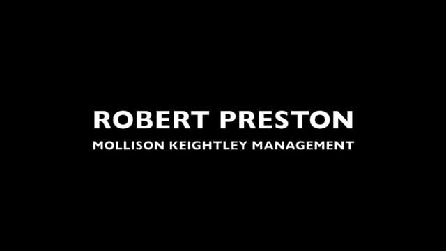 Showreel for Robert Preston