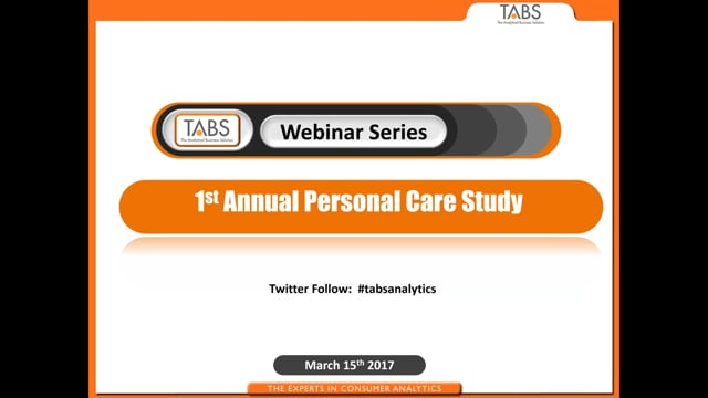TABS 1st Annual Personal Care Study (03/15/2017)