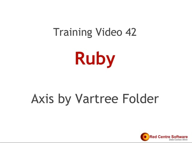 42. Axis by Vartree Folder