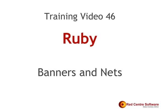 46. Banners and Nets