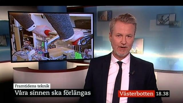 SVT Local News Broadcast