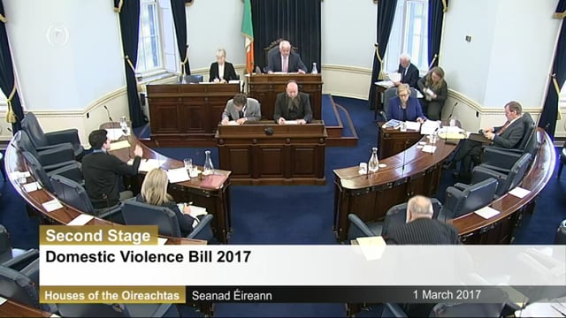 Domestic Violence Bill 2017 Second Stage
