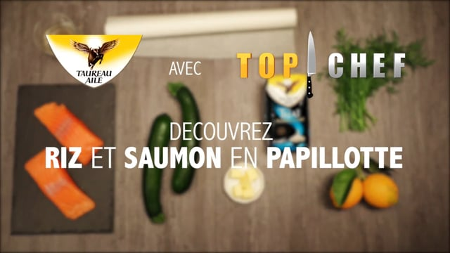 Recette  Top chef papillote