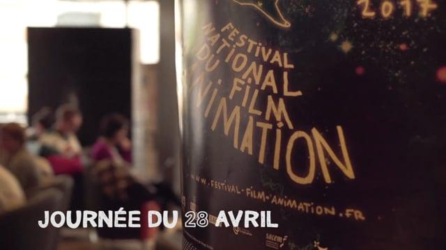 Journée du 28 avril - Festival national du film d'animation 2017