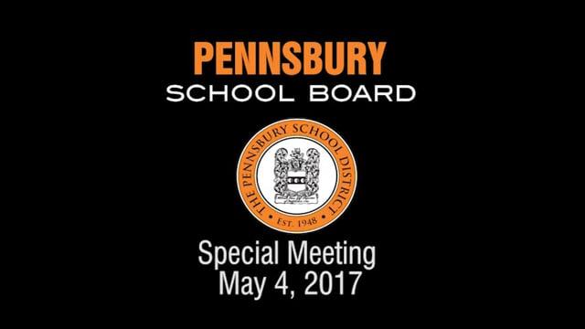 Pennsbury School Board Meeting for May 4, 2017