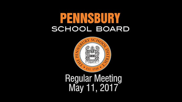 Pennsbury School Board Meeting for May 11, 2017