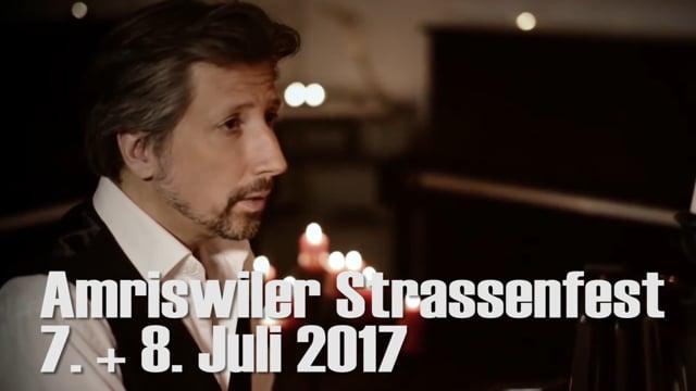 Strassenfest 2017: Roger De Win, Andy McSean und Massimo Buonanno