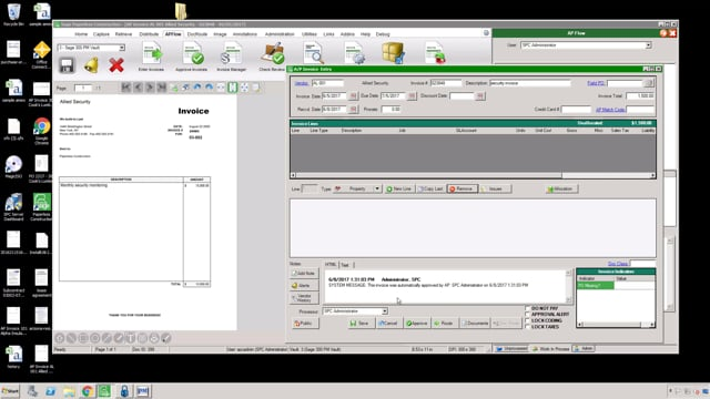Sage Paperless PM Entry Demo