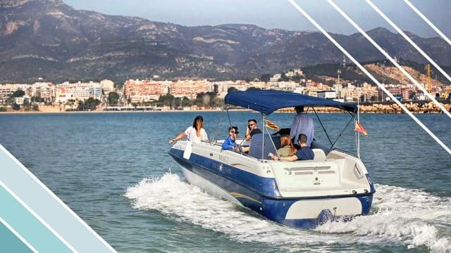 VÍDEO - Visita amb embarcació a motor